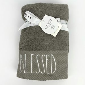 Rae Dunn Hand towels 2 pk BLESSED
